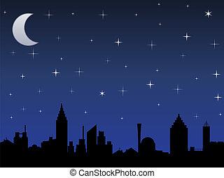 cielo, notte