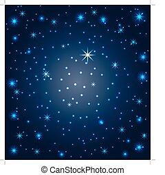 cielo notte, stelle