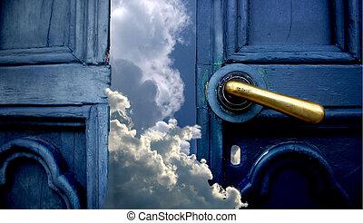 cielo, porta