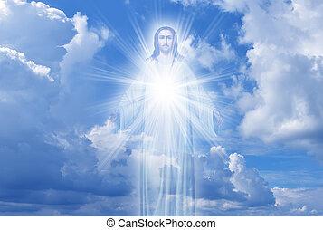 cielo, religione, cristo, concetto, gesù