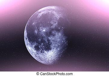 cielo, stelle, luna