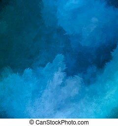 cielo, vettore, pittura, fondo, notte