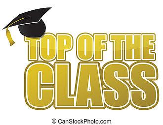 cima, graduazione, classe