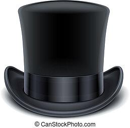cima nera, cappello