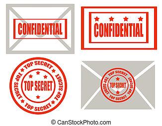 cima segreto, -stamps