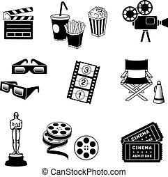 cinema, icone
