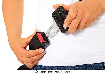 cintura sicurezza