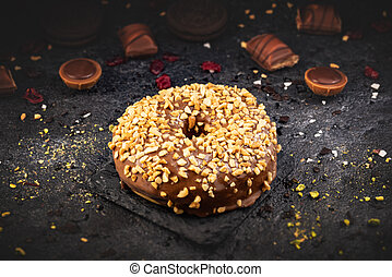 cioccolato, vita, donut, ancora