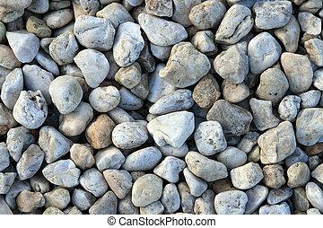 ciottolo, fondo, pietre