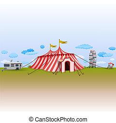 circo, parco, divertimento