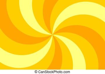 circo, sfondo giallo