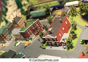 città, miniatura