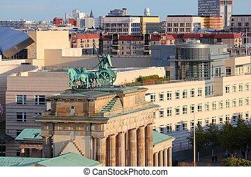 cityscape, berlino, germania