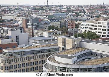 cityscape, cattedrale, berlino, torre