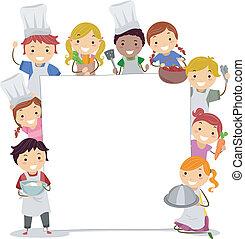 classi, cottura, asse