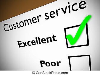 cliente, feedback, servizio