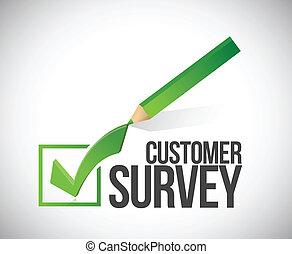 cliente, illustrazione, marchio, esame, disegno, assegno