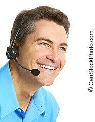 cliente, operatore, servizio