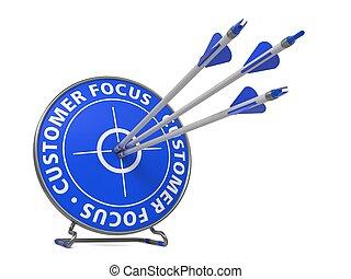 cliente, target., concetto, colpo, -, fuoco