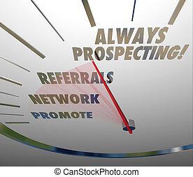 cliente, vendita, always, vendite, risultato, nuovo, prospezione, tecnica