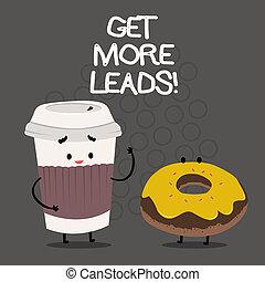 clienti, concetto, parola, sguardo, affari, ottenere, testo, clienti, scrittura, strategy., seguaci, marketing, nuovo, leads., più
