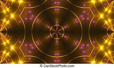 club, astratto, lights., interpretazione, immagine, 3d