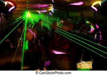clubbing, atmosfera