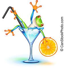 cocktail, rana