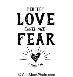 colare, perfetto, amore, paura, fuori