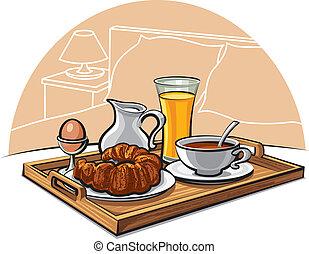 colazione, albergo