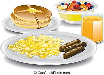 colazione, completo