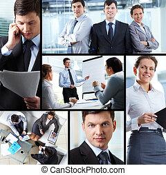 collage, affari