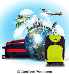 collage, viaggiare turismo