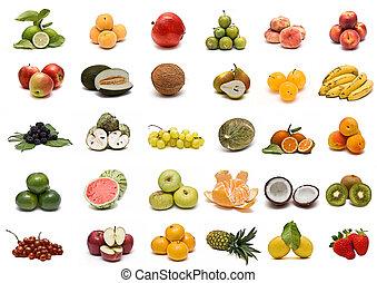 collection., frutta