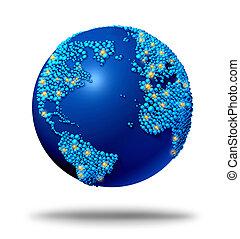 collegamenti, globale