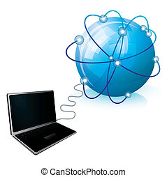 collegamento, internet