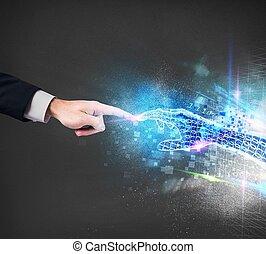 collegamento, virtuale