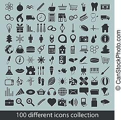 collezione, icone