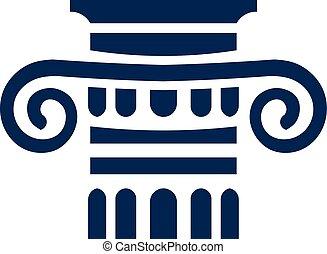 collum, logotipo, segno