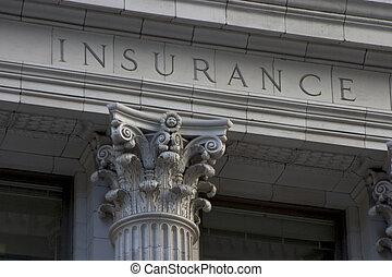 colonna, assicurazione