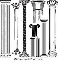 colonna, collezione