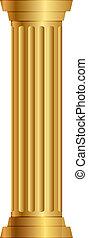 colonna, oro