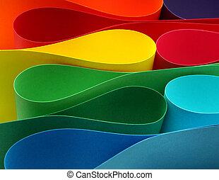 colorare, arco, formazione