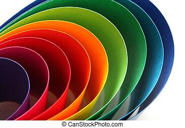 colorare, arco, spettro