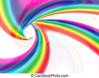 colorare, astratto, pieno, vortice, liquido