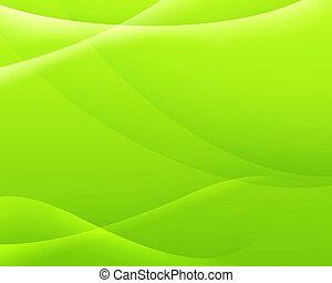 colorare, astratto, sfondo verde