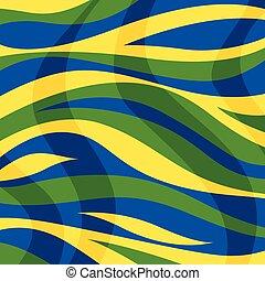 colorare, astratto, zebrato, fondo, onde