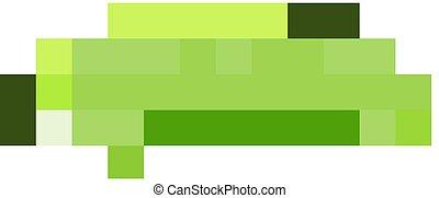 colorare, bruco verde