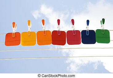 colorare, cielo, su, campioni, presa a terra