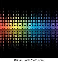 colorare, equalizzatore, grafico